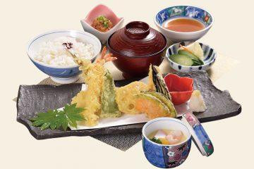 旬野菜天ぷら定食